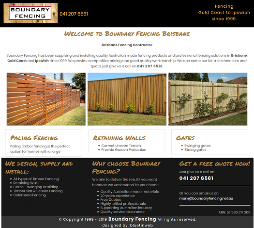 Boundary Fencing Brisbane
